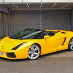 Lamborghini Gallardo Spyder for hire