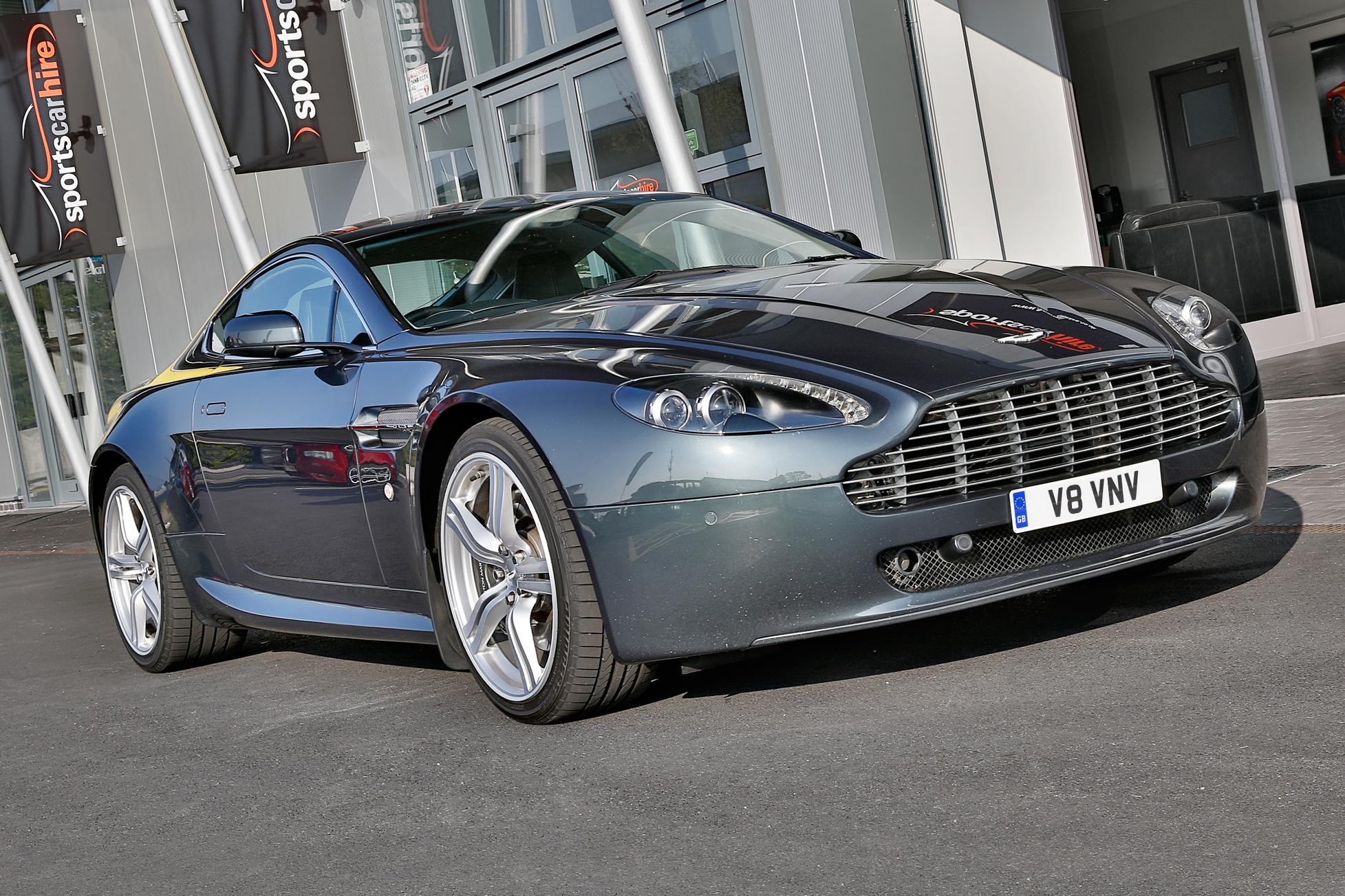 aston martin v8 vantage hire west midlands sports car hire. Black Bedroom Furniture Sets. Home Design Ideas